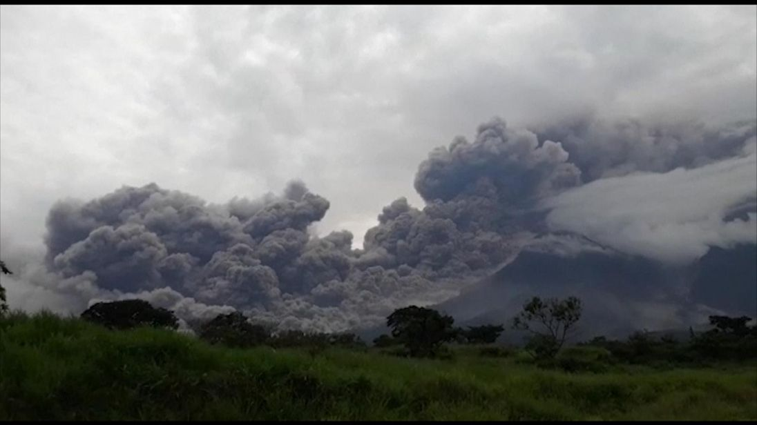 Guatemala's Fuego volcano eruption, in pictures