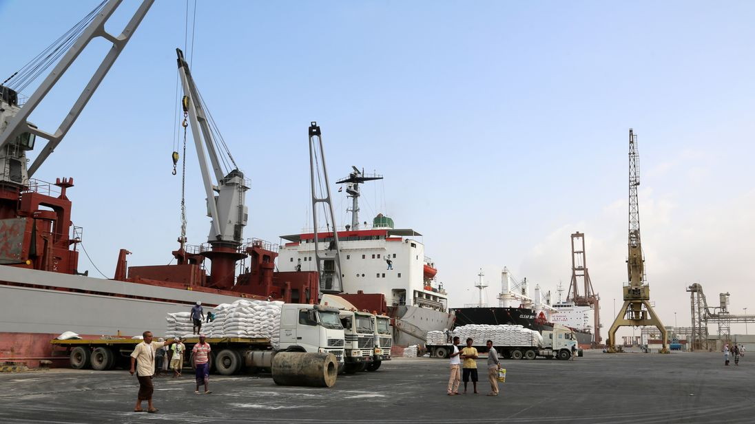 Saudi-led coalition launches major assault on Yemen port city
