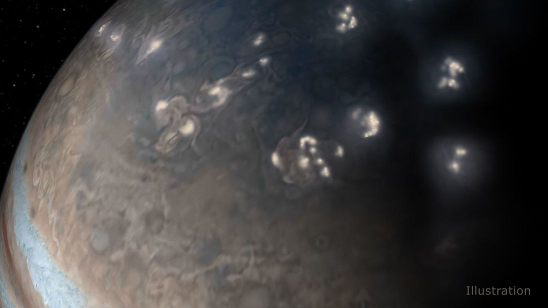 Scientists told about the storms on Jupiter