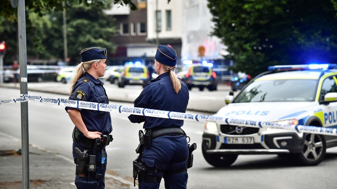 2 die of 6 men wounded in southern Sweden drive-by shooting