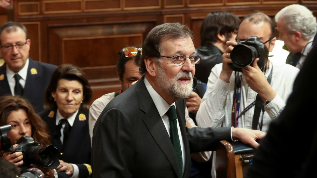 Socialist Sanchez takes charge in Spain as tarnished Rajoy departs