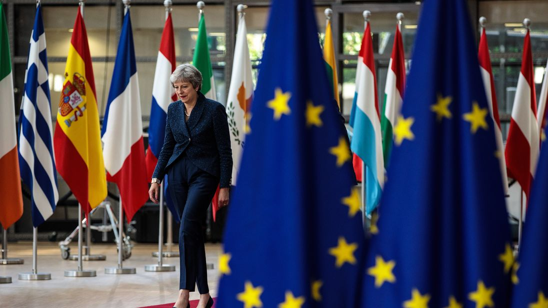 The PM says the UK is ready to enter the next phase in negotiations over its departure from the bloc