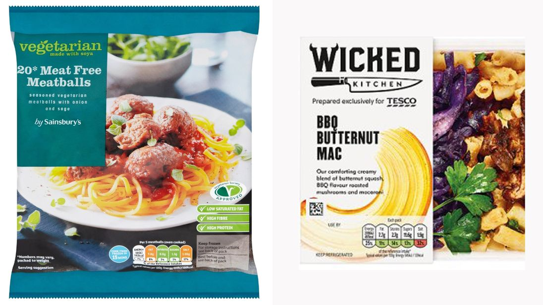 Pork And Turkey Found In Supermarket Vegan And Vegetarian Meals, Claims Report
