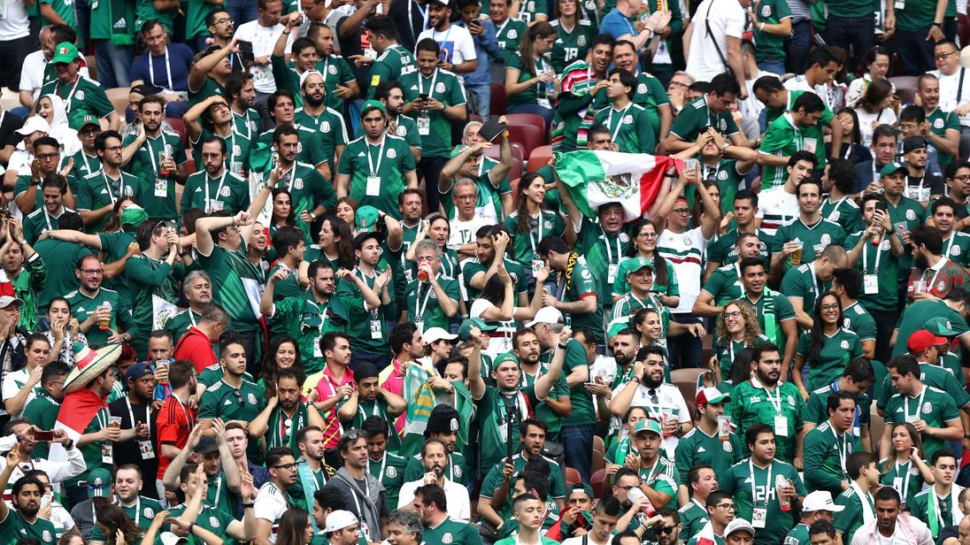 Mexico stuns champions Germany in major upset