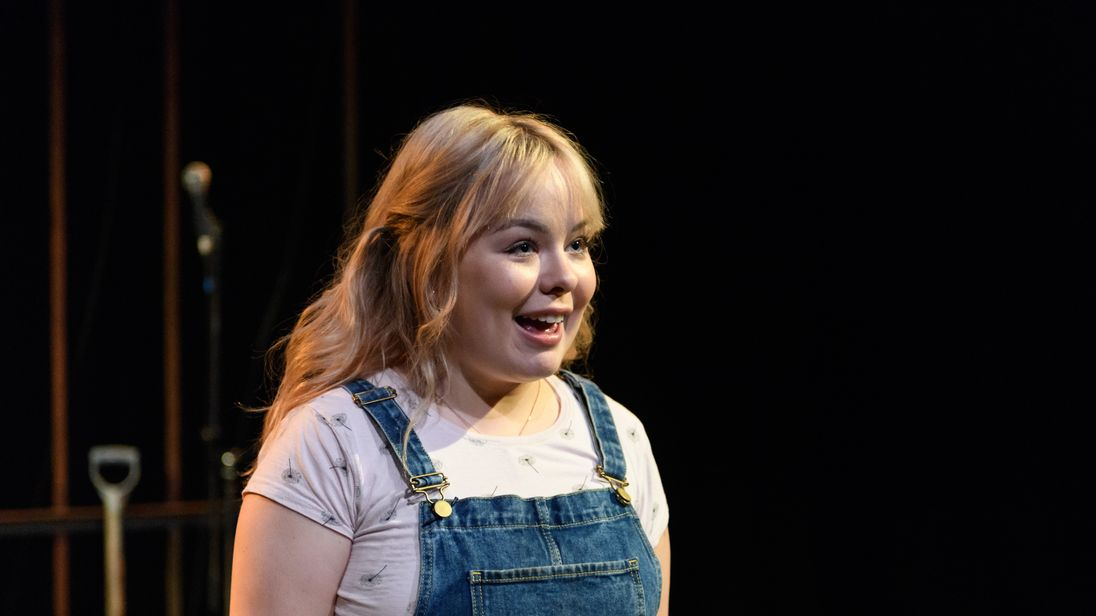 """Nicola Coughlan was called an """"overweight little girl"""" in a review of The Prime of Miss Jean Brodie. Pic: Rex"""