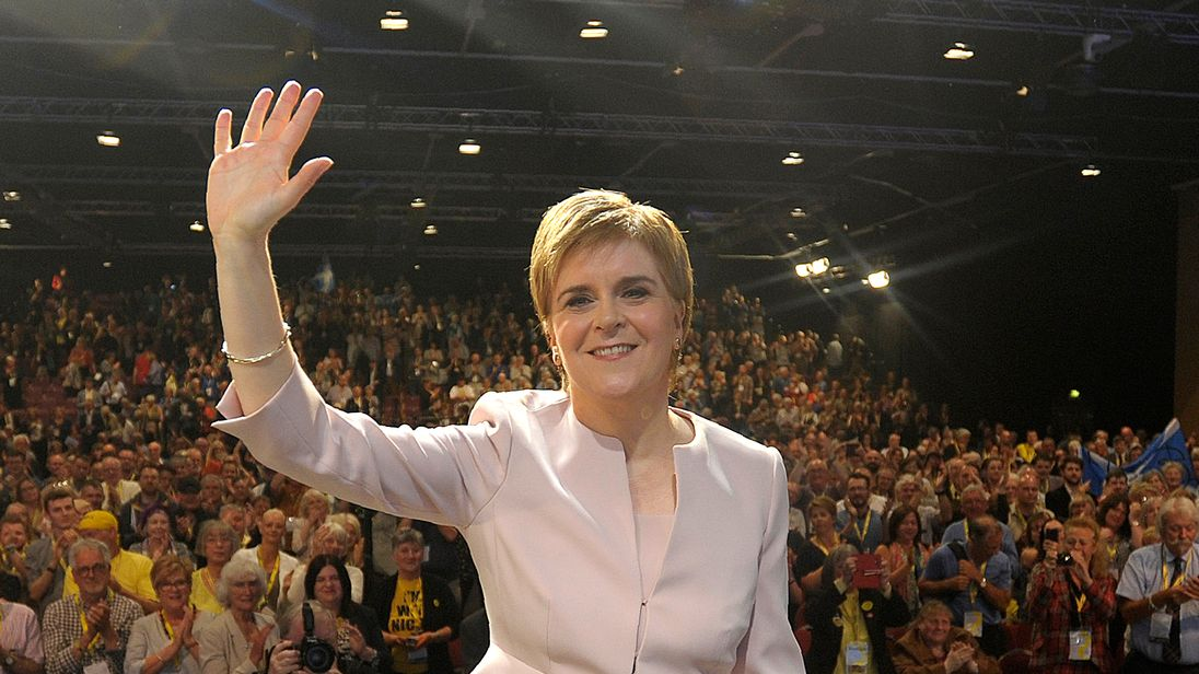 SNP membership applications rise by 10,000% after MPs' mass walkout in Westminster