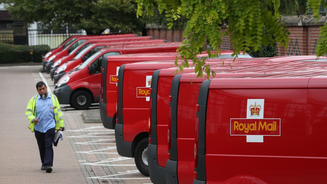 Royal Mail offices will have flags on display