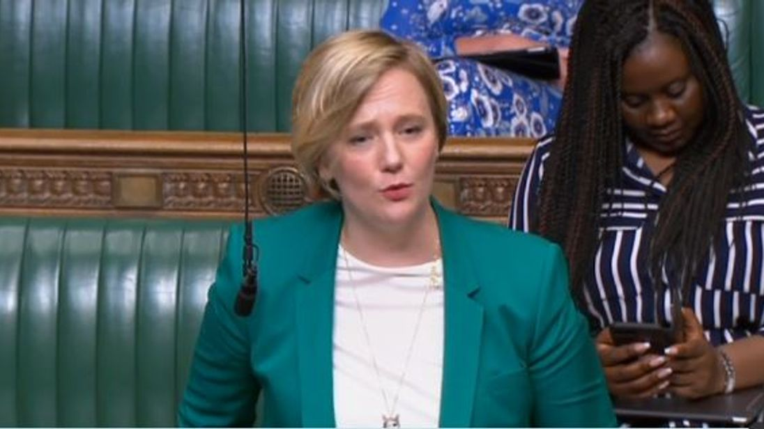Stella Creasy brought the emergency debate on abortion in Northern Ireland to the Commons