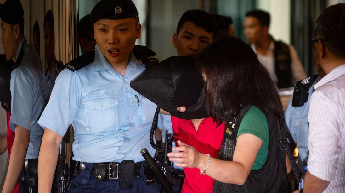 Suspect in Hong Kong shooting