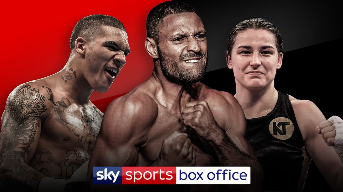 Dillian Whyte vs Joseph Parker undercard live on Sky Sports Box Office