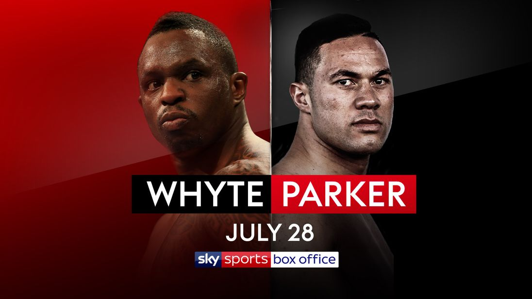 Image result for Dillian Whyte vs Joseph Parker Live