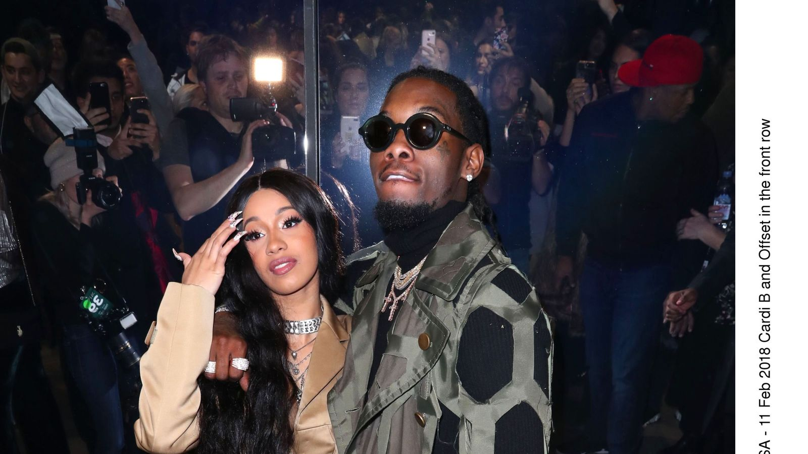 Offset Got Cardi B S Name Tattooed On His Neck: Rappers Cardi B And Offset Married In Secret…nine Months