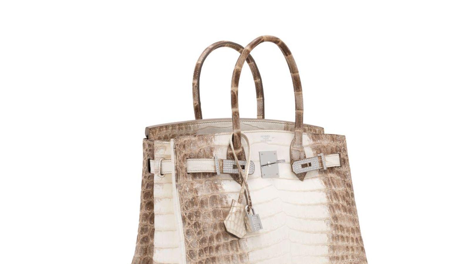 Diamond-encrusted Hermes bag
