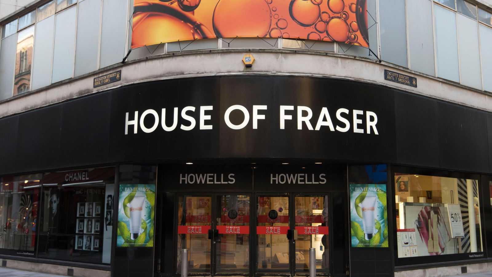 6,000 jobs to go as House of Fraser closures confirmed