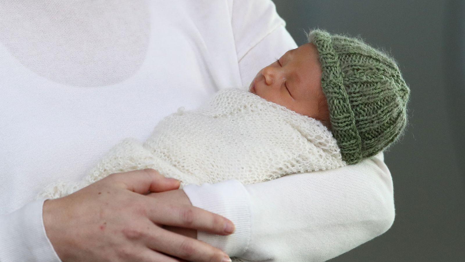 NZ prime minister Jacinda Ardern reveals new baby Neve
