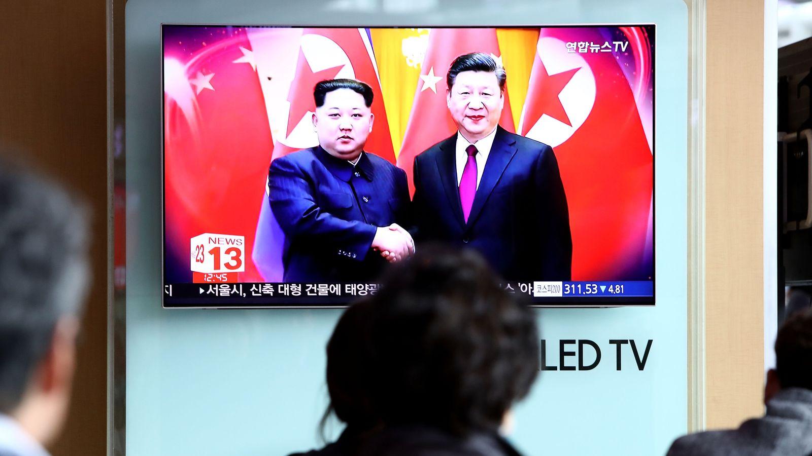 Kim bolsters nuclear talks hand on China trip