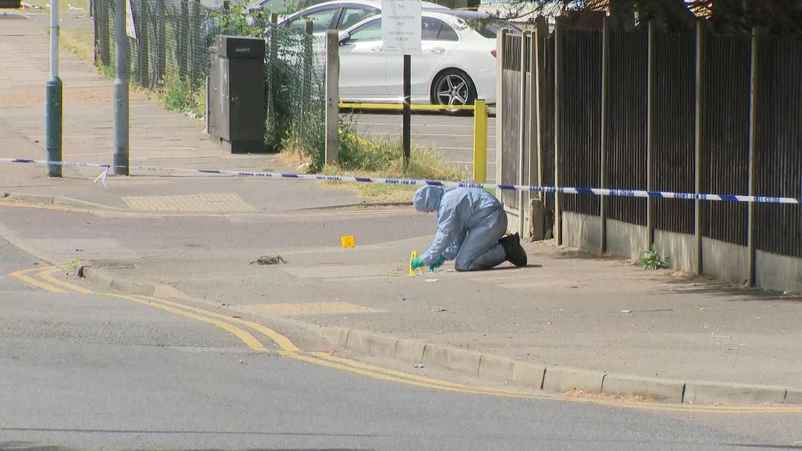 Boy, 15, stabbed to death during brawl after birthday party