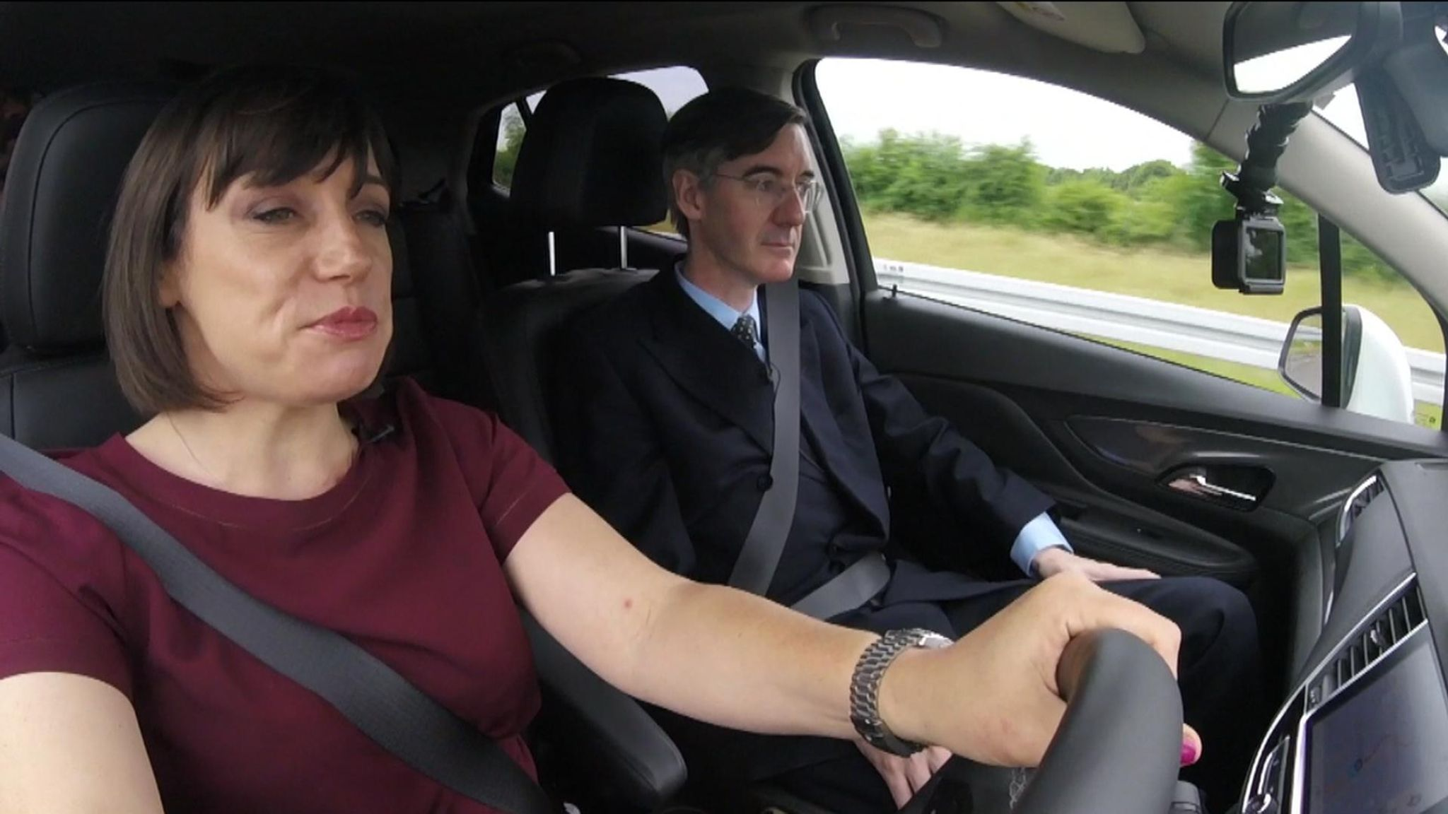 Jacob Rees-Mogg at Irish border: 'UK can win game of chicken