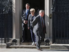 (left to right) Dominic Grieve, Anna Soubry and Ken Clarke