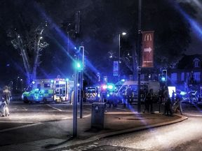 Turnpike Lane, Haringey, where someone was stabbed. Pic: Electra Edward