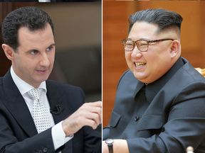 Bashar al Assad and Kim Jong Un are set to meet, according to Pyongyang
