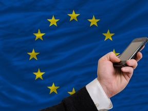 The UK could miss out on an EU-wide price cap on the cost of phone calls and texts