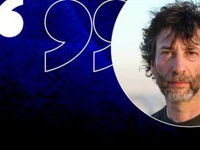 Neil Gaiman is a UNHCR ambasador