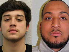 Police want to speak to William Deo, 20, and Gavin Okwu-Brewis, 29