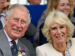 WADEBRIDGE, UNITED KINGDOM - JUNE 07: Prince Charles, Prince of Wales and Camilla, Duchess of Cornwall, who is also Vice-President of the Royal Cornwall Agricultural Association attend the Royal Cornwall Show on June 07, 2018 in Wadebridge, United Kingdom. (Photo by Tim Rooke - WPA Pool/Getty Images)