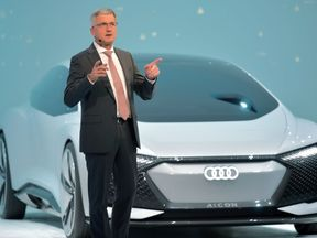 Audi boss Rupert Stadler has been on the board of management at VW since 2010