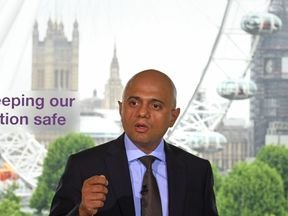 Home Secretary Sajid Javid launches a strengthened version of the Government's counter-terror strategy