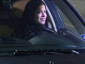 For the first time, Saudi Arabian women are allowed to drive on public roads