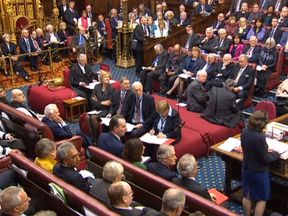 The House of Lords made 15 amendments to the Brexit Bill