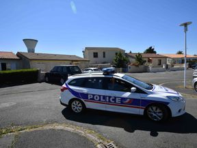 Police said nine men and one woman were arrested in the raids