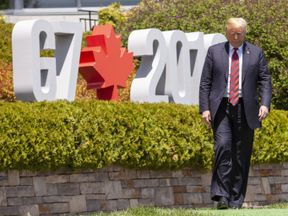 This summit has been referred to as the 'G6 plus one' as Donald Trump becomes increasingly isolated