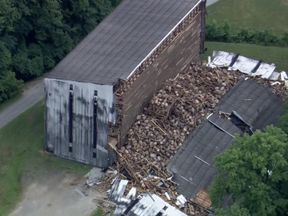 Whiskey warehouse collapse
