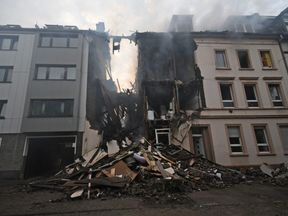 The house in Wuppertal was destroyed
