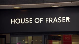 House of Fraser to close half of its shops