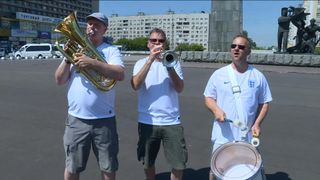 The England band perform their World Cup song