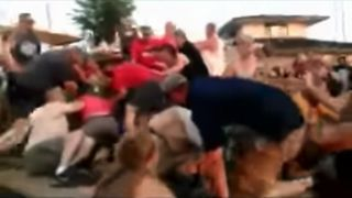 A fight erupted during a youth softball tournament in Kingsport, Tennessee.