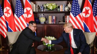 Trump confident of 'terrific relationship' with Kim