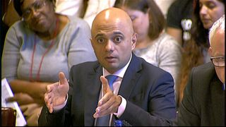 Sajid Javid denies Windrush is 'systemic failure'