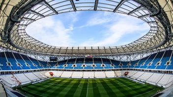 Inside the stadium where England will kick off their World Cup campaign