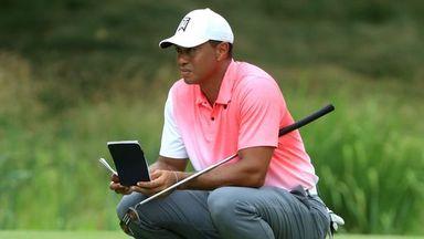Tiger putting analysis