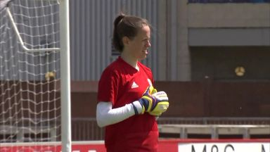 Wales' Sullivan keeping busy
