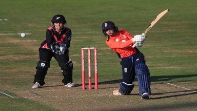 England Women v NZ Women T20 Hlts