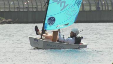 Jamie's crash course in sailing