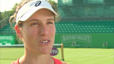 Konta aims for Wimbledon final