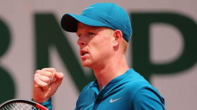 Getting to know Kyle Edmund