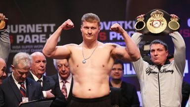 Hearn: The only focus is Povetkin